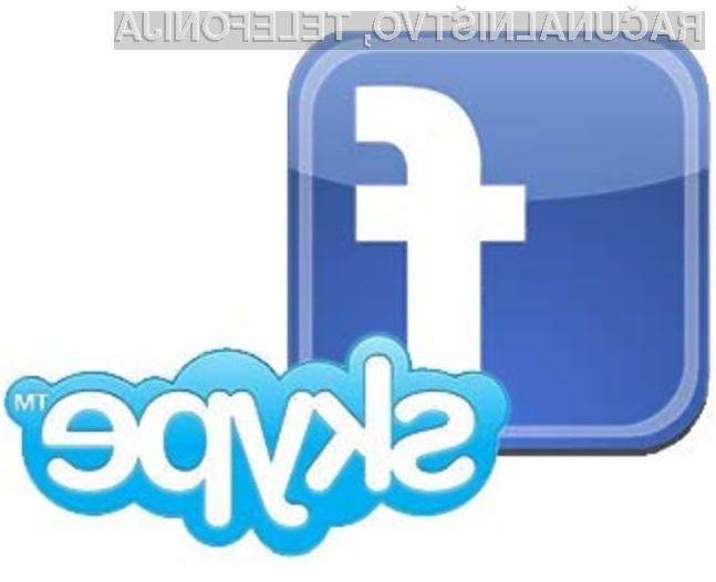Skype in Facebook: Zmagovalna naveza!