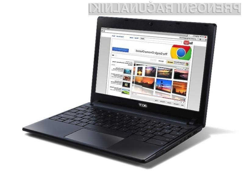 Žepni računalnik Acer AC700 Chromebook je hiter, zmogljiv, zanesljiv in poceni!