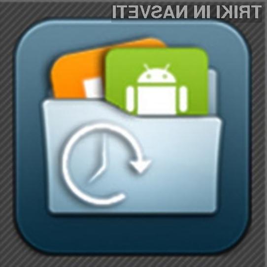 Varnostne kopije aplikacij so na dosegu roke.
