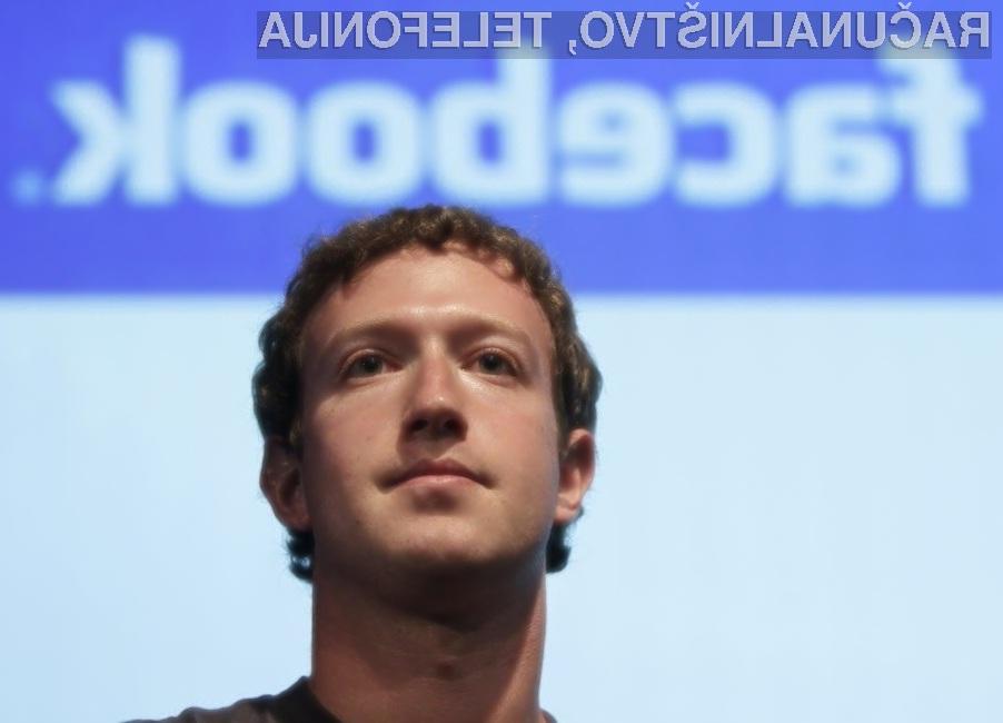 Marku Zuckerbergu Facebook ogromno pomeni.