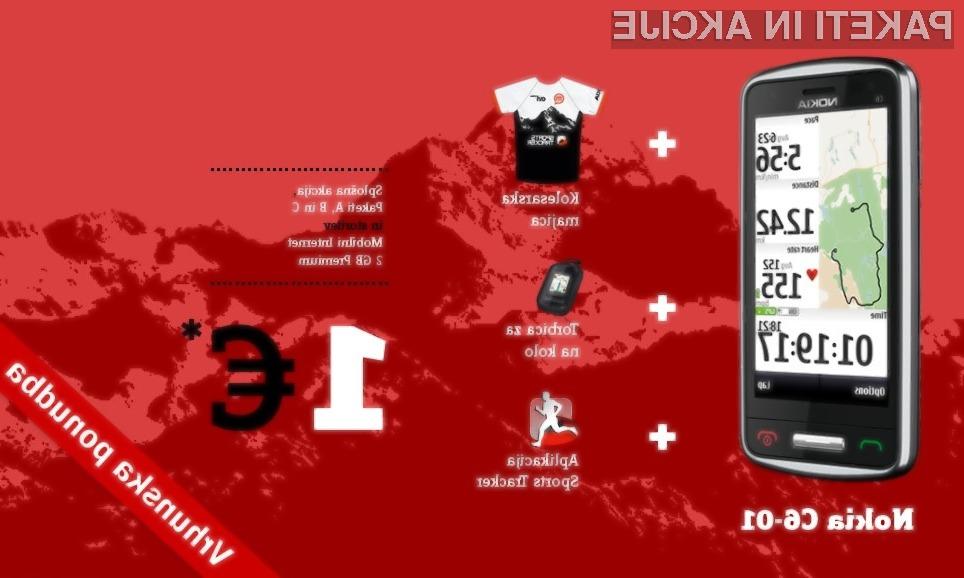 Nokia in Mobitel spodbujata k redni rekreaciji