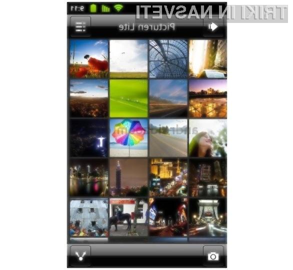 S programom Picturen Lite bo pregledovanje slik in fotografij pravi užitek.