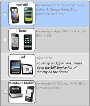Sophos Mobile Control za iOS, Android in Windows Mobile naprave