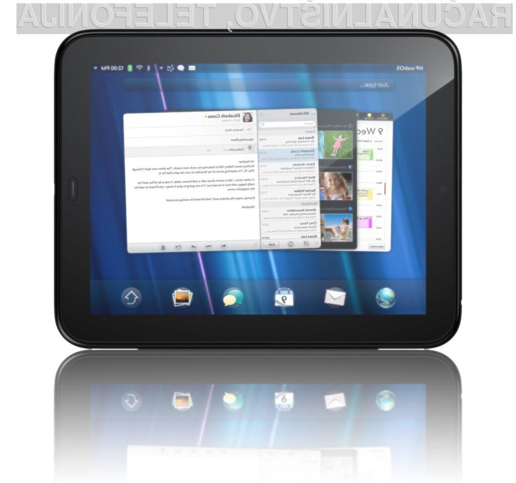 HP-jev TouchPad uradno 1. julija