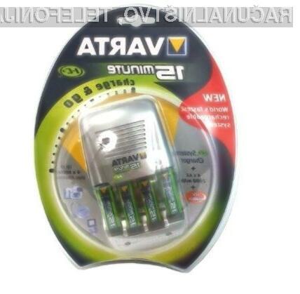 Polnilec baterij Varta