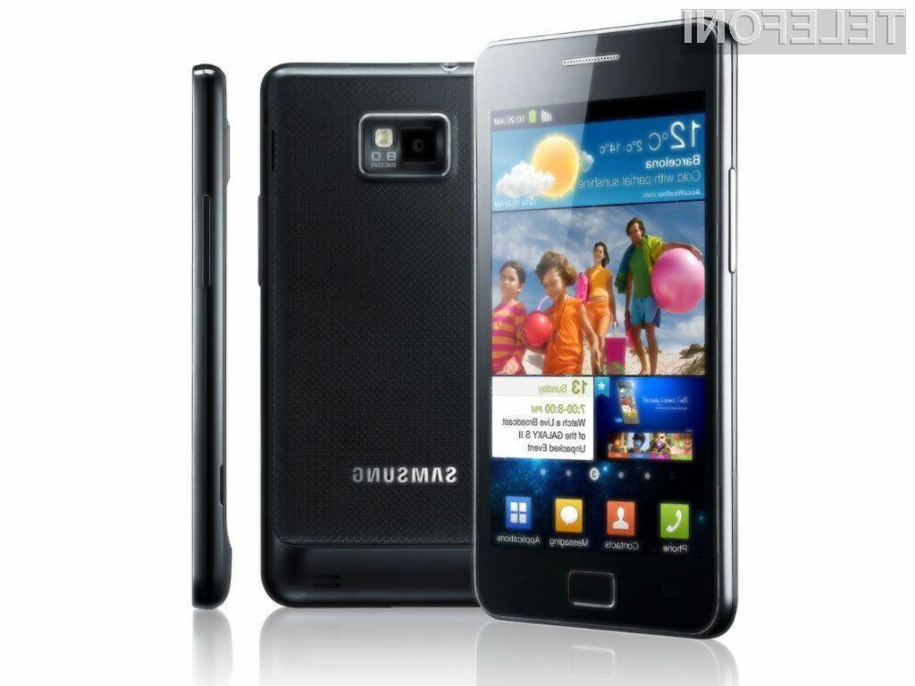 Z mobilnikom Galaxy S2 je Samsung zadel v polno.
