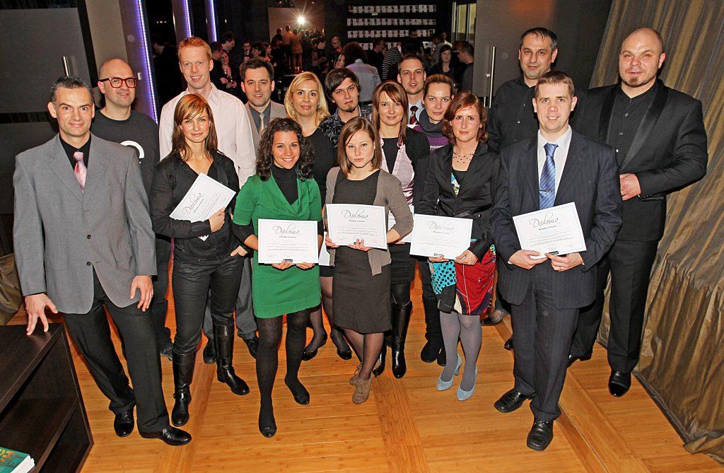 Podelitev diplom Menedžer za internet 2010; Foto: Andrej Križ