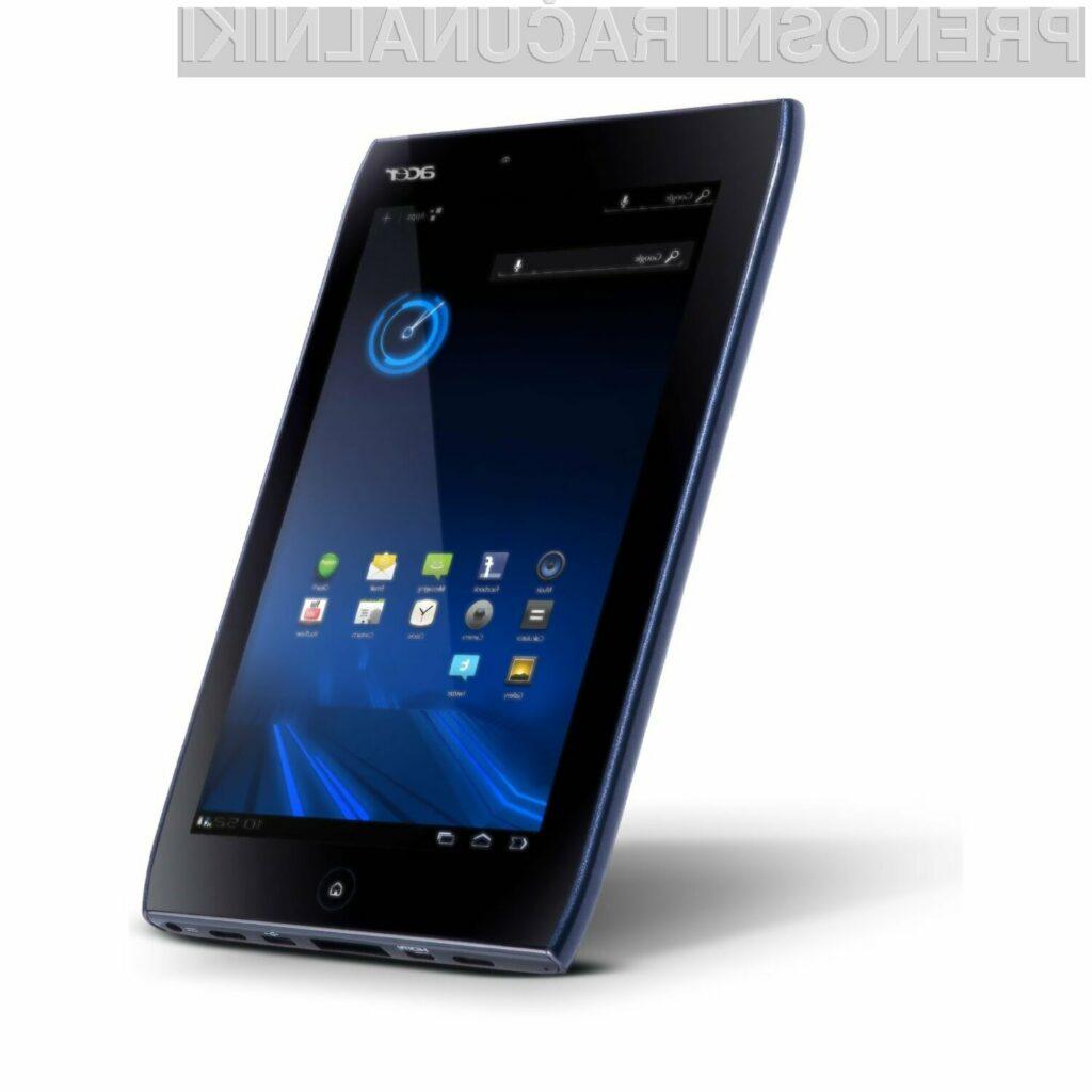 Iconia Tab A100 bo imela na trgu močno konkurenco.