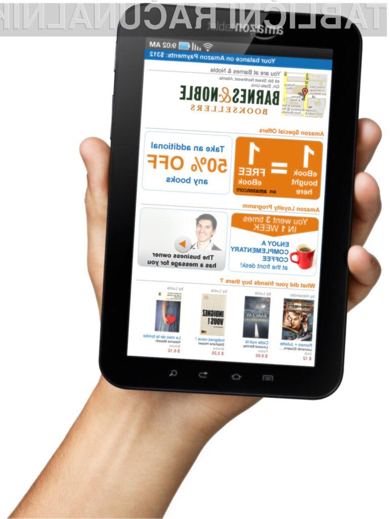 Amazonov tablični računalnik, naj bi se na prodajnih policah znašel najkasneje do oktobra.
