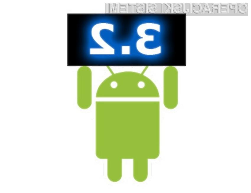 Android 3.2 Honeycomb je povsem pisan na kožo tabličnim računalnikom z »majhnimi« zasloni.