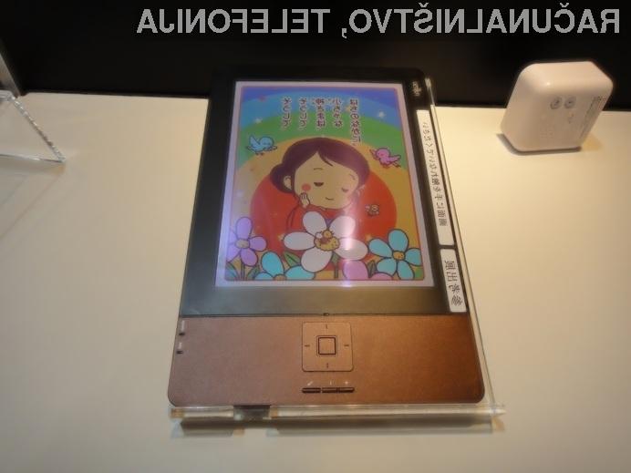 Bi kakovostni barvni elektronski bralniki lahko klasične papirnate knjige pahnil v pozabo.?