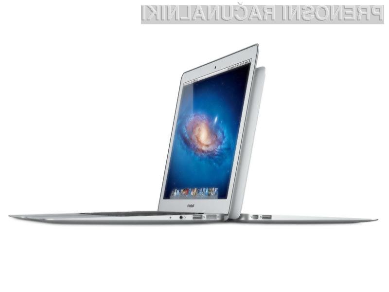 Apple je posodobil MacBook Air z naslednjo generacijo procesorjev, tehnologijo Thunderbolt in osvetljeno tipkovnico.