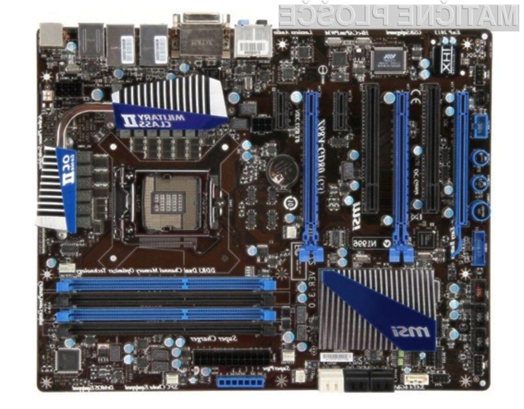 Osnovna plošča MSI Z68A-GD80 (G3) je pisana na kožo tako igričarjem kot zahtevnim uporabnikom.