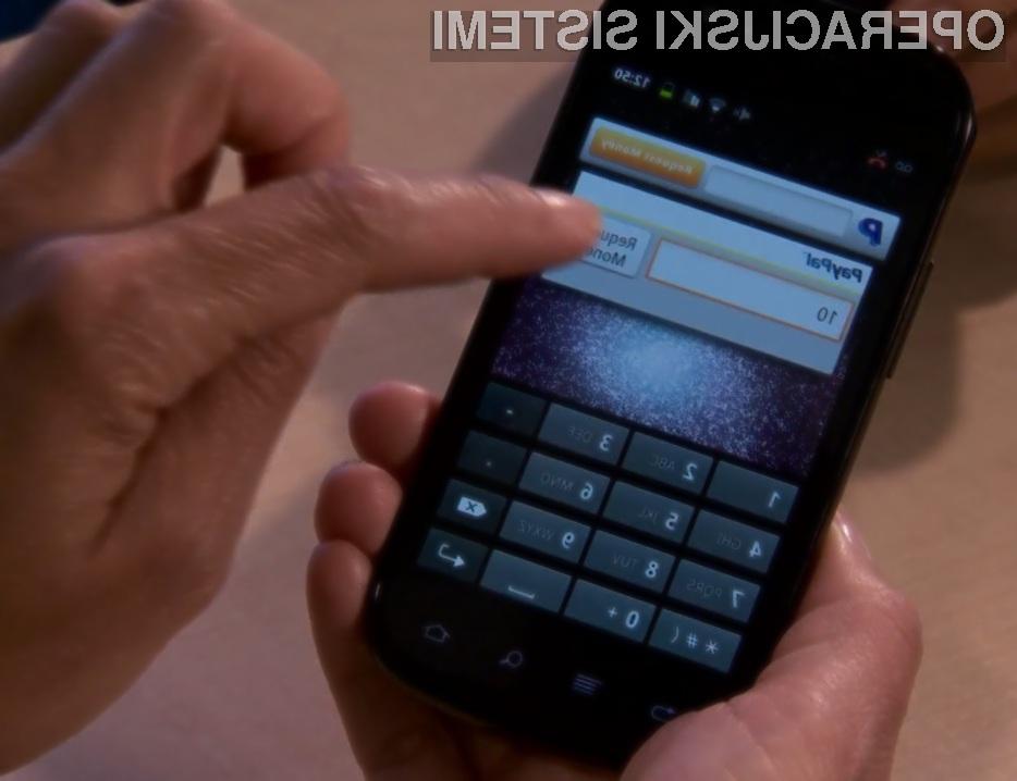 Podjetje PayPal vidi prihodnost brezgotovinskega plačevanja v brezstični tehnologiji NFC.