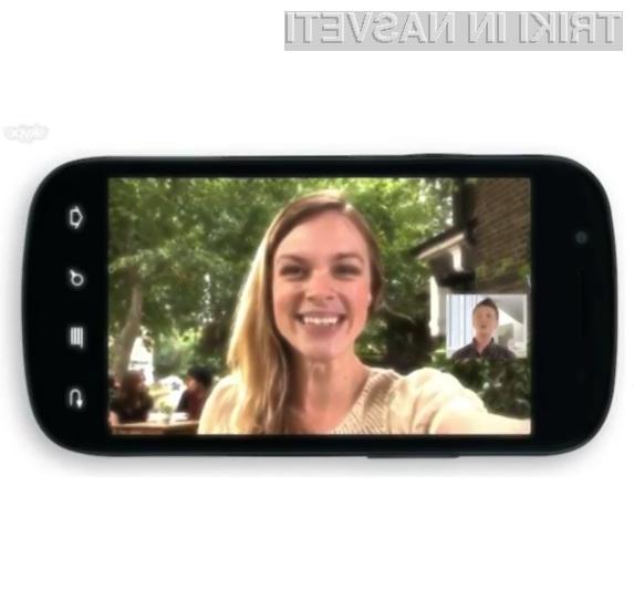 Mobilni Skype je bogatejši za videoklice.