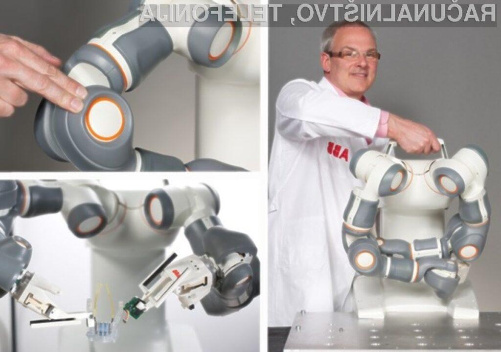 Roboti Frida podjetja ABB so zanesljivi, natančni, enostavni za namestitev in cenejši od človeka.