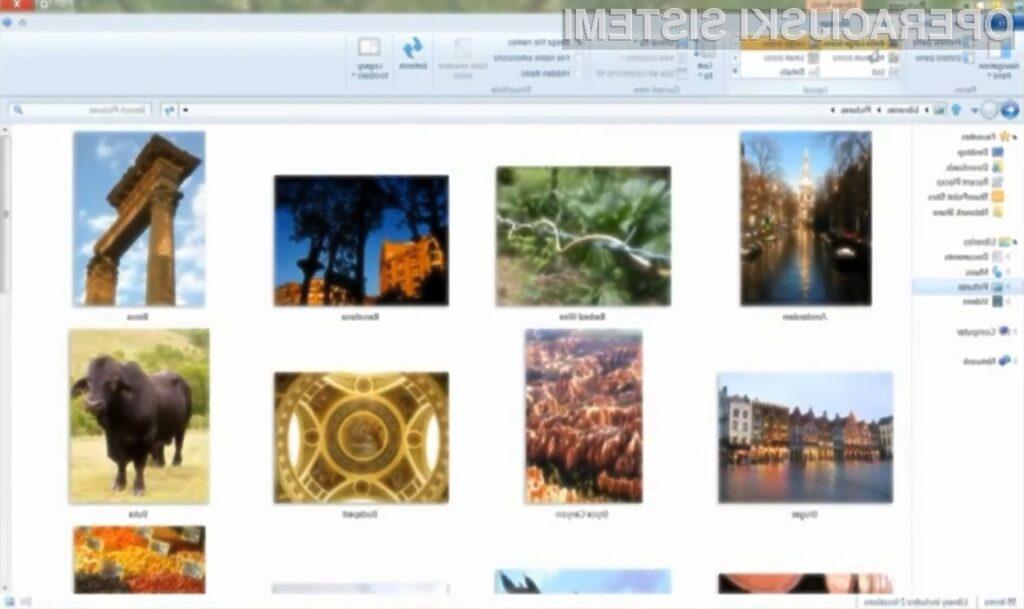 Vam je v novi program za upravljanje z datotekami operacijskega sistema Windows 8 po godu?