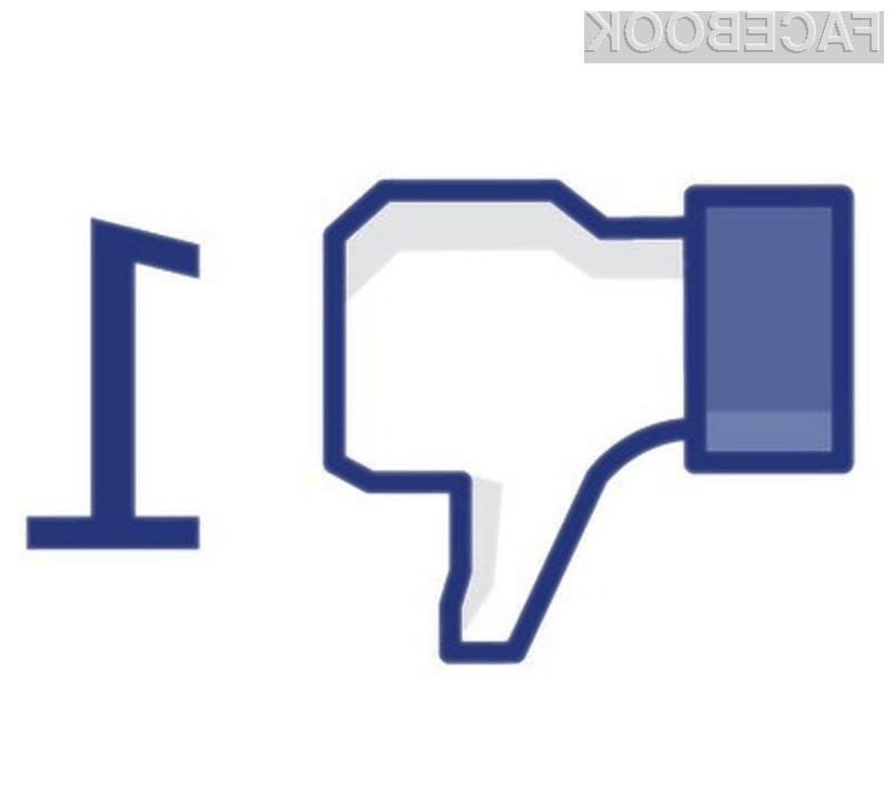 """Facebookov gumb """"Všeč mi je"""" je hud sovražnik zasebnosti obiskovalcev spletnih strani."""