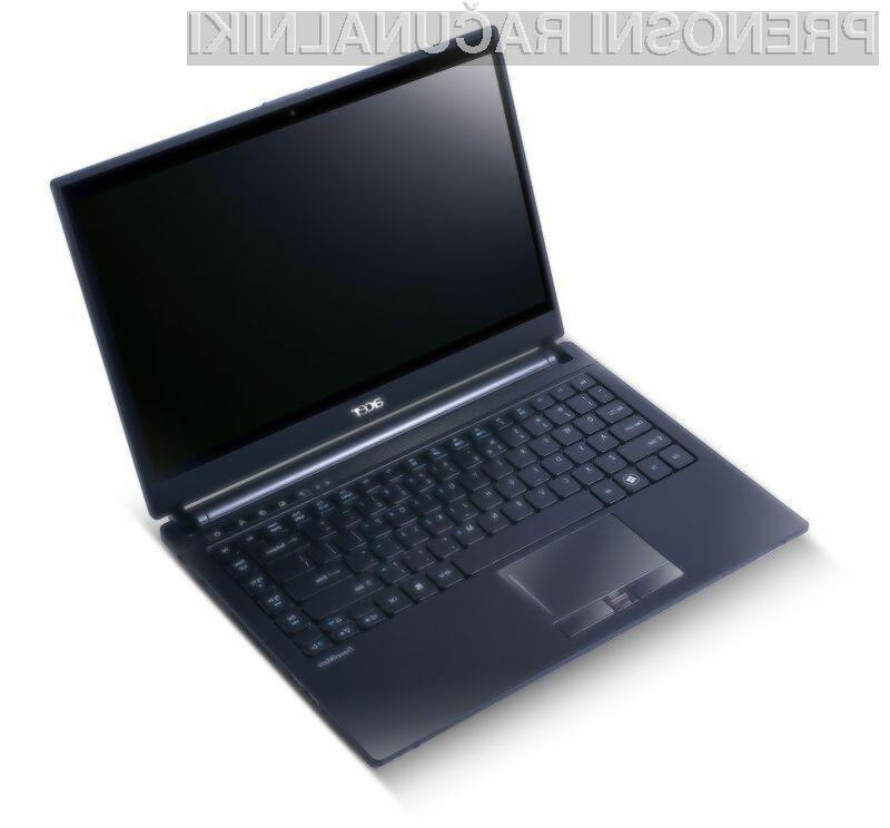 Da bodo poslovneži svoja dela na TravelMate Timeline 8481T opravljali tekoče, je Acer vanj vgradil drugo generacijo Core i5 procesorja.