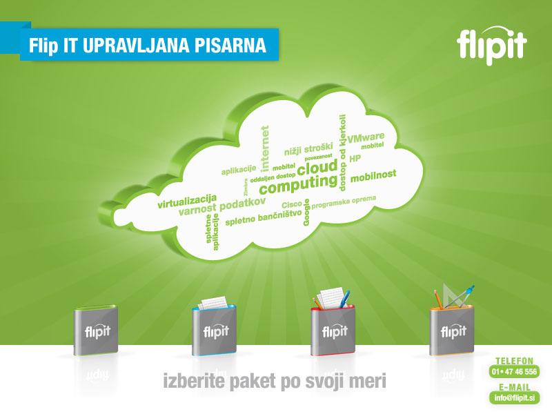 Flip IT je storitev v oblaku za majhna in srednja podjetja