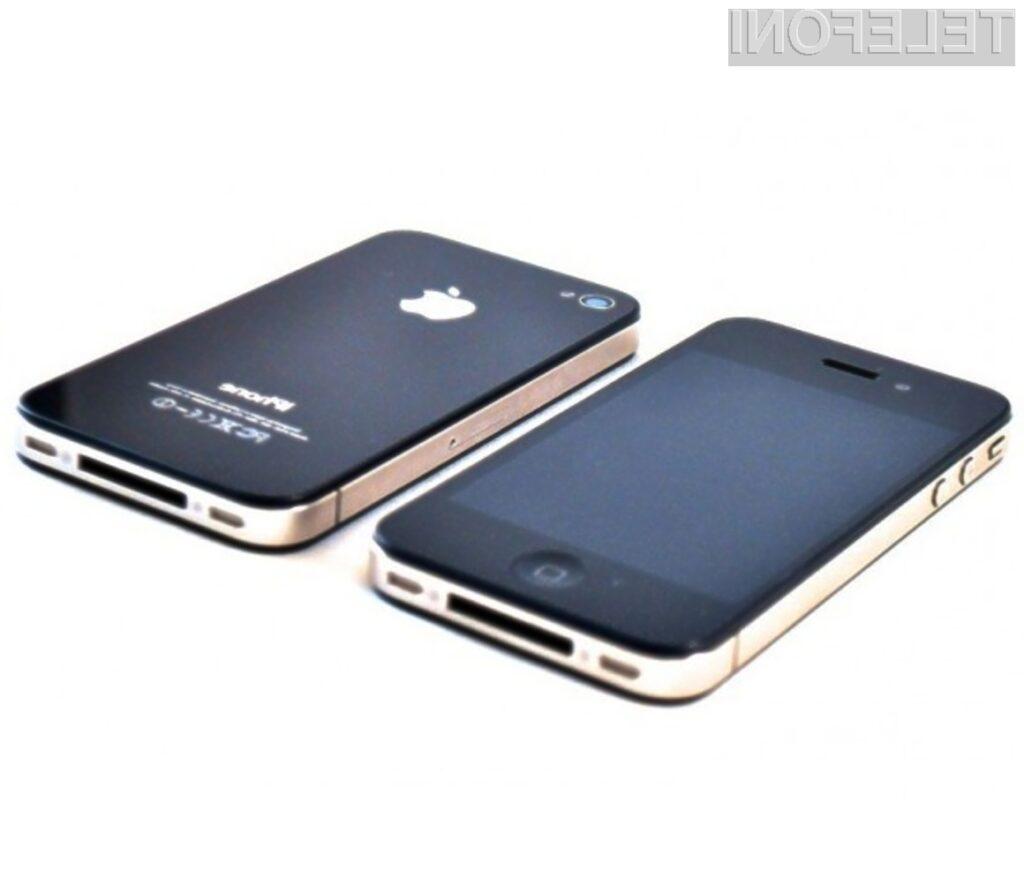 Pri nas naj bi bilo potrebno za cenejši pametni mobilnik iPhone 4 odšteti okoli 150 evrov.