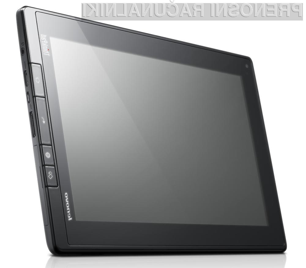 V  skladu z oblikovno filozofijo serije ThinkPad prenosnikov je Lenovo tabličnemu računalniku dejansko dodal tudi fizične tipke za preglednik, funkcije Back, Home in zaklepanje zaslona.