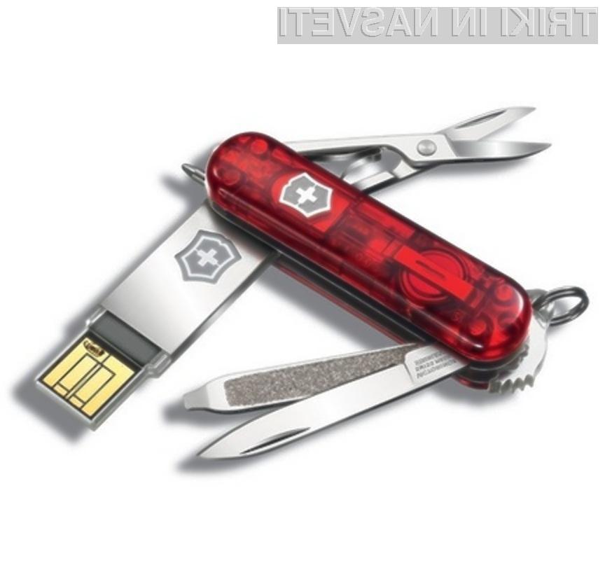 Šifriranje je najbolj primeren način zaščite podatkov.