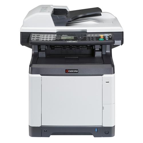 A4 - Barvna mfp 26 čb / 26 barvno - mrežni laserski tiskalnik in kopirni stroj, barvni skener, faks