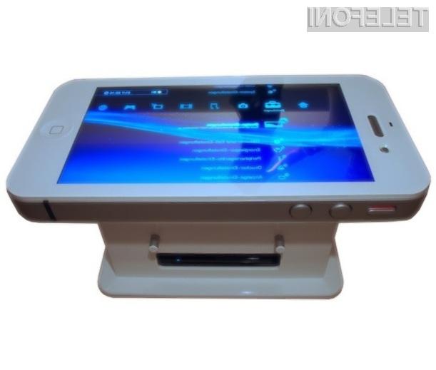 Večpredstavnostna miza iTableous je prava poslastica za ljubitelje Applovih mobilnikov iPhone.