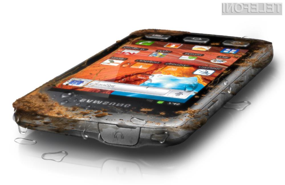 Samsung pripravil izredno vzdržljiv mobilnik Galaxy Xcover