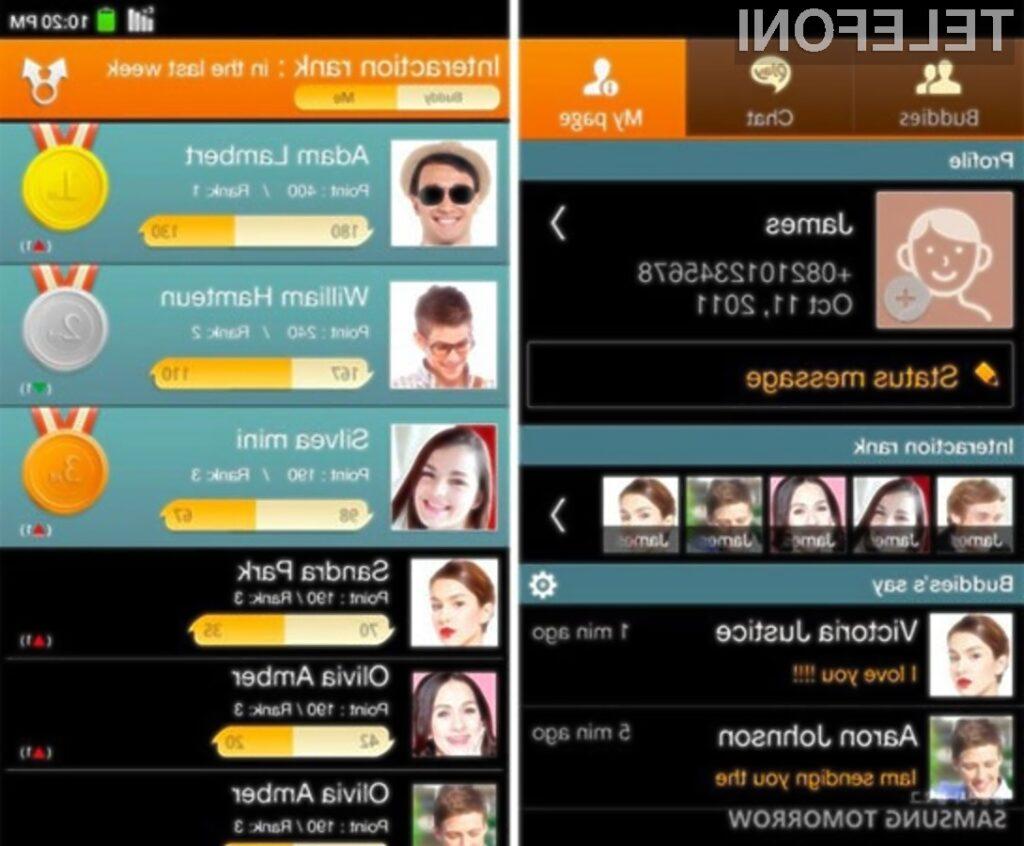 Samsung ChatON bo precej poenostavil deljenje večpredstavnostnih vsebin med mobilnimi platformami.
