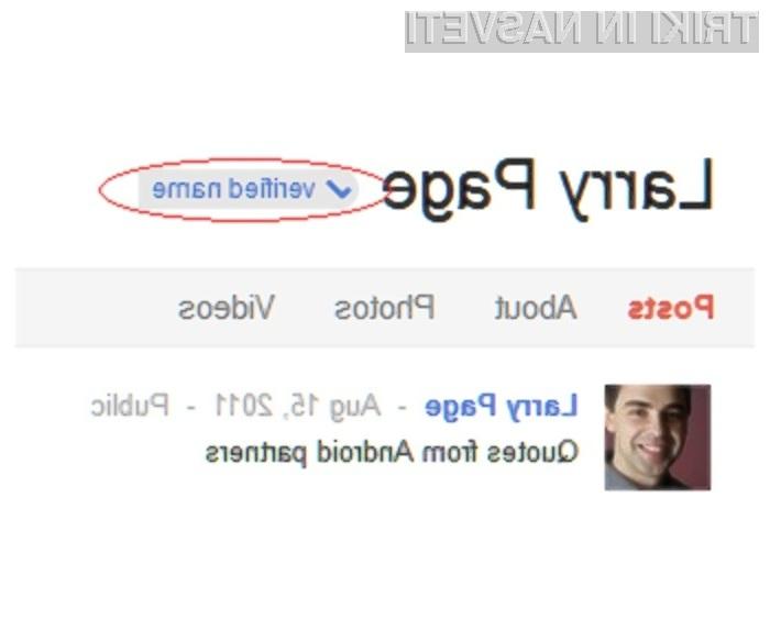 Google+ se z vsemi kremplji bori proti lažnim uporabniškim računom.