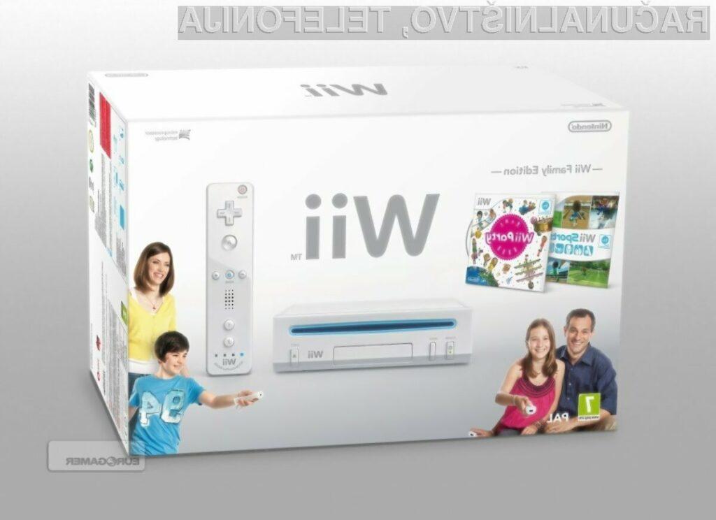 Nintendo na trgu predstavil nekoliko spremenjeno različico konzole Wii, ki bo nekoliko tanjša in cenejša od trenutne