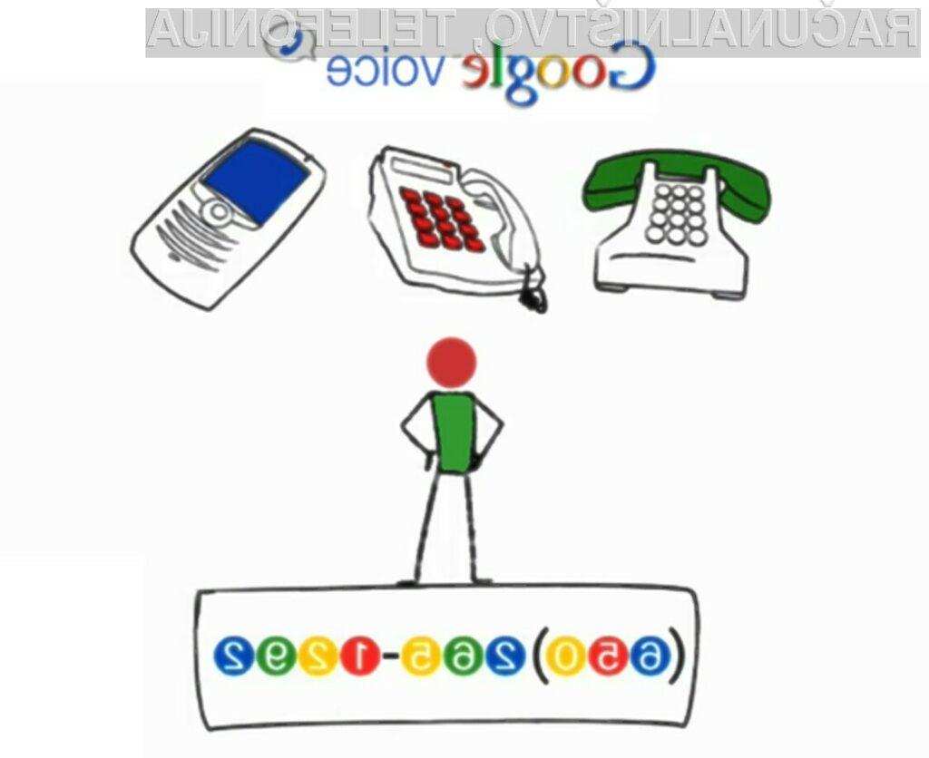 Bo Google Voice streznil naše pregrešno drage ponudnike storitev mobilne telefonije?
