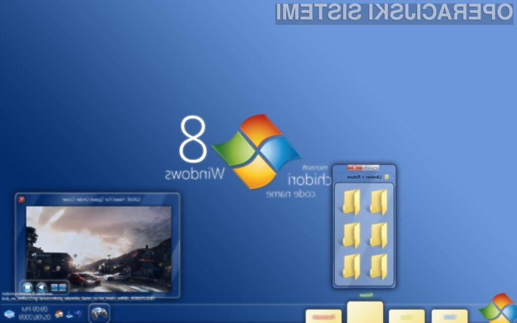 Prihajajoči operacijski sistem Windows 8 naj bi vključeval tudi orodje Hyper-V za virtualizacijo sistema.