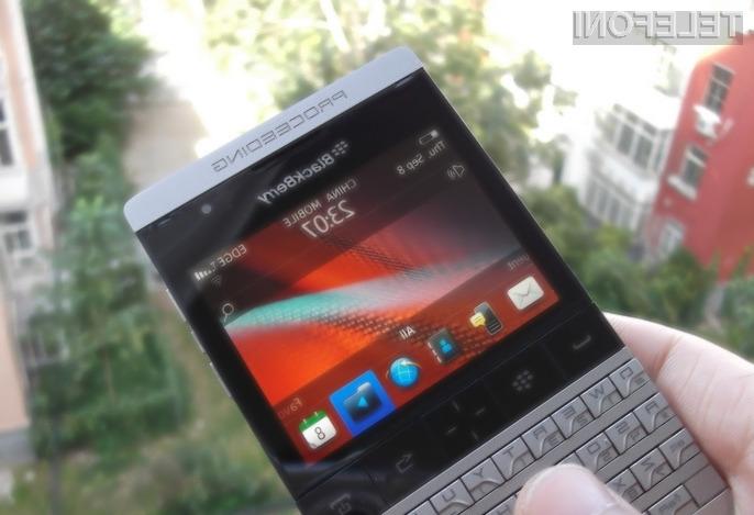Nov Blackberry ali le ponaredek iz Kitajske ?