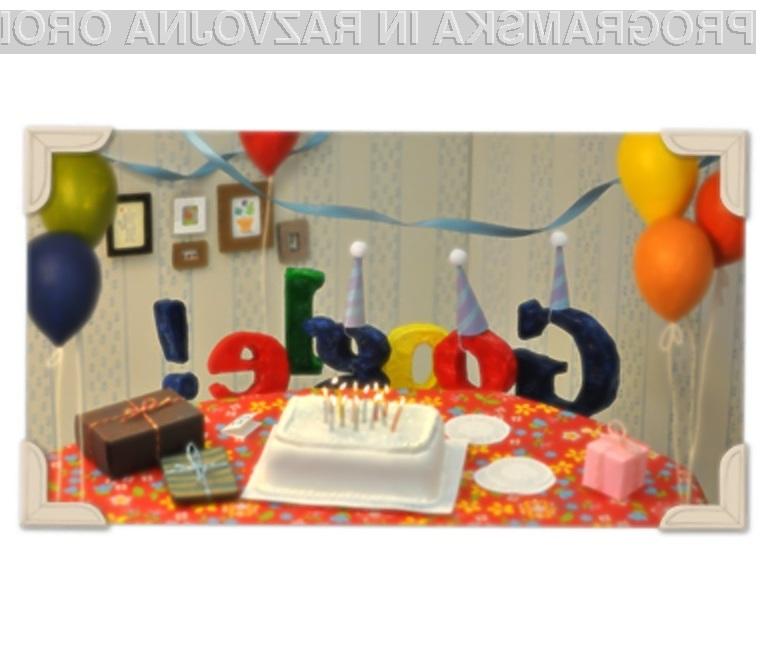 Vse najboljše Google! Še na mnoga leta!
