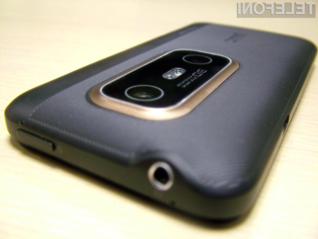 HTC EVO 3D: Posnemimo 3D slike in video kar s telefonom.