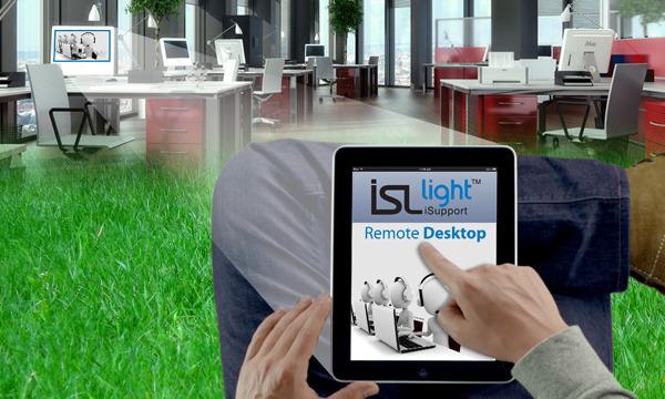 ISL Light iOS: dostop do oddaljenega računalnika z iPada