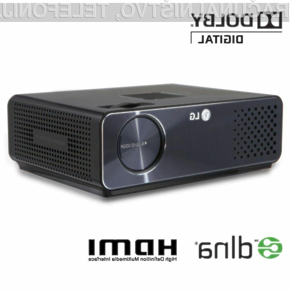 Zaradi svoje kompaktne velikosti, je elegantni projektor HW300Y mogoče vzeti s seboj skoraj povsod.