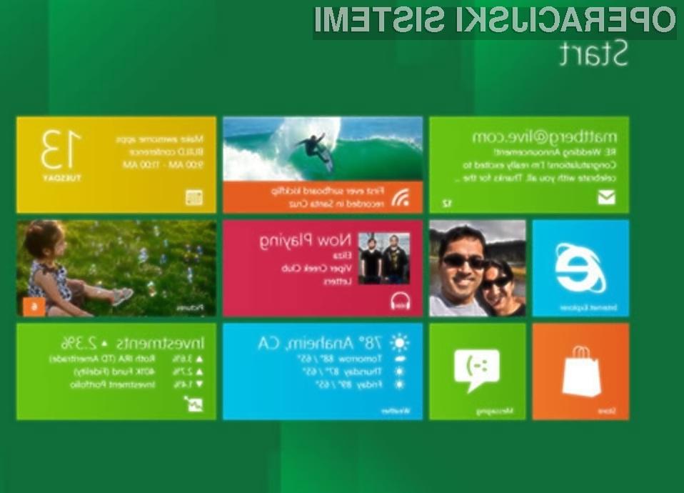 Preizkusimo Windows 8!