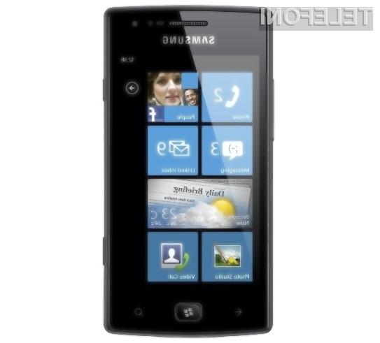 Samsung in Windows Phone Mango: Zmagovalna naveza?