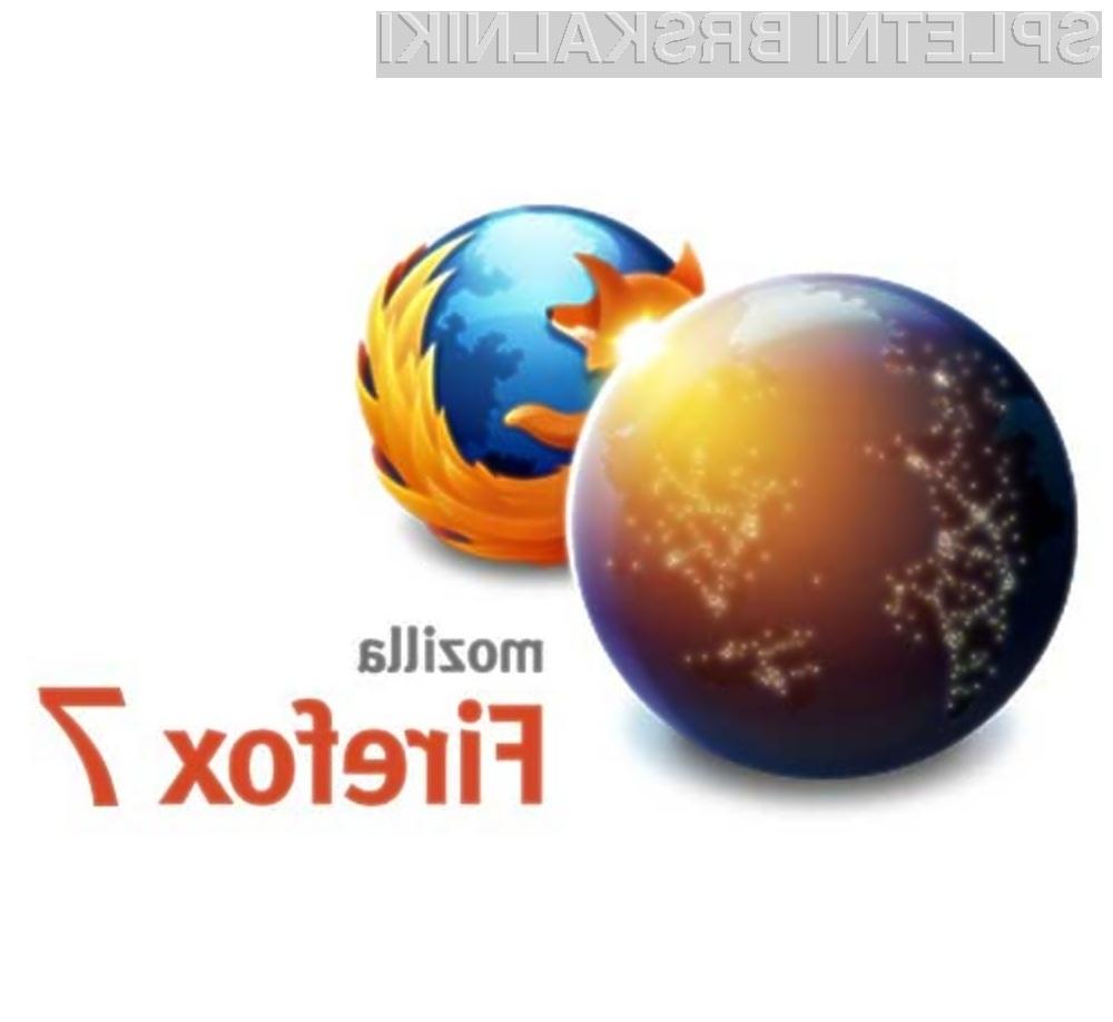 Spletni brskalnik Firefox 7 pri delovanju porabi do polovico manj sistemskega pomnilnika.