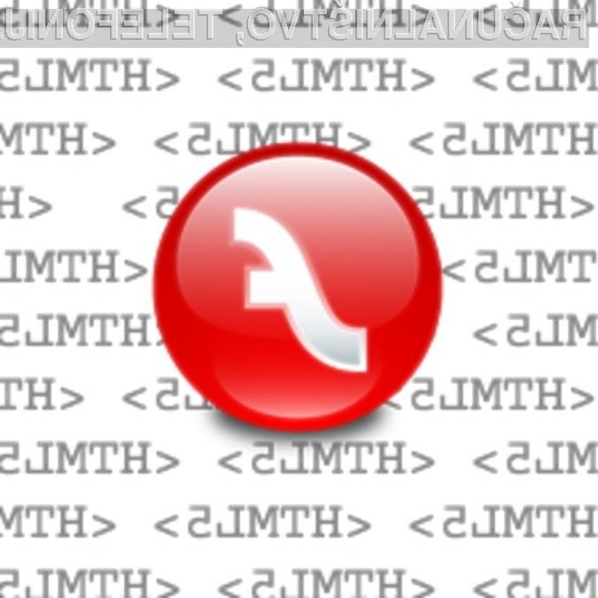 Flash proti HTML5: Kdo bo koga?