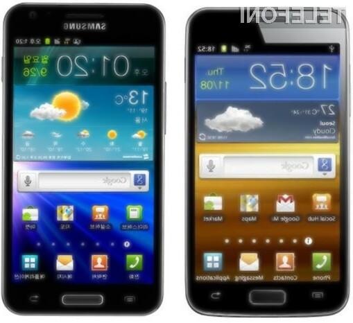 Samsung Galaxy S II HD in Galaxy S II LTE prekašata konkurenco na celi črti!