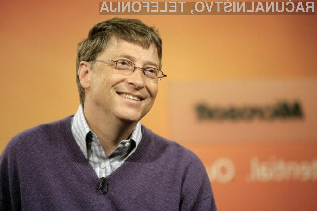 Gates je na čelu seznama s skupno ocenjenim premoženjem na 59 milijard ameriških dolarjev.
