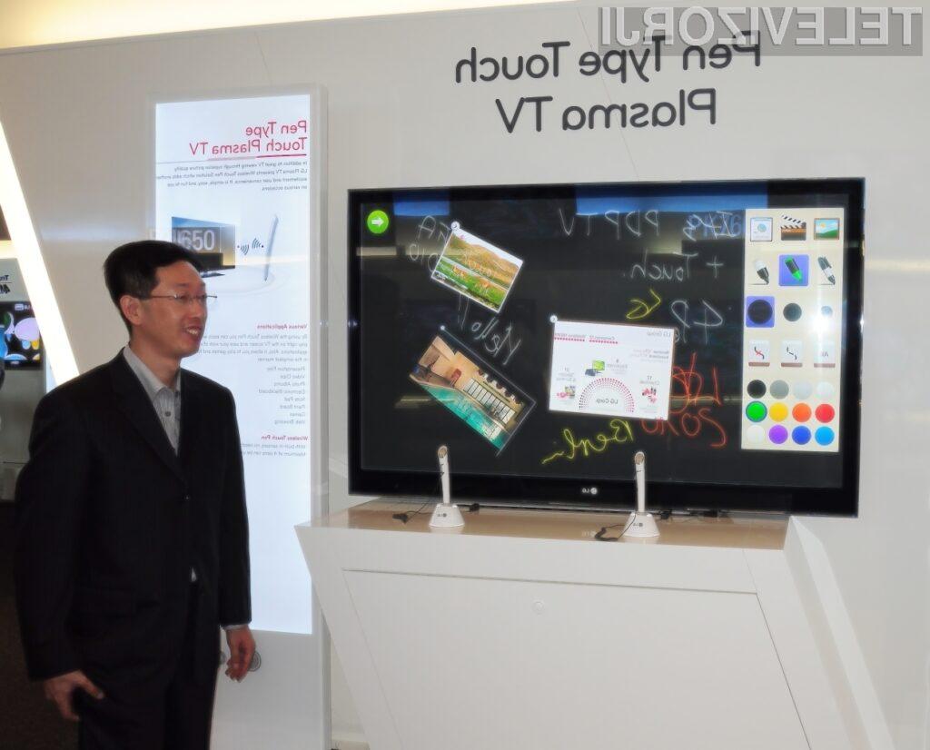 LG je na IFA sejmu v Berlinu predstavil televizor z oznako PZ850, za katerega pravijo, da je neke vrste inovativni plazma TV ekran.