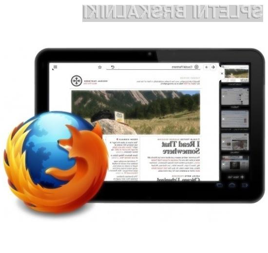 Prenovljeni mobilni spletni brskalnik Firefox se bo grafično povsem sovpadal z operacijskim sistemom Android Honeycomb.