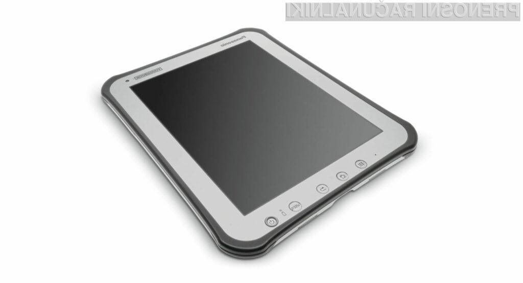 """Tablični računalnik se po svojih sposobnostih ustrezno """"zliva"""" z družino prenosnikov Toughbook."""