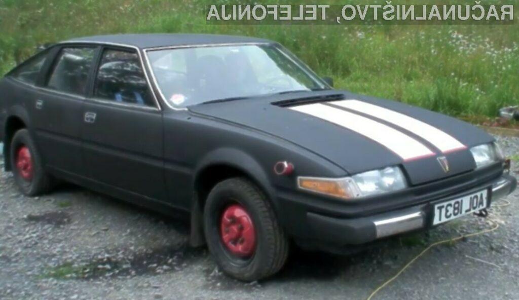 Povprečna hitrost predelanega avtomobila Rover SD1 znaša zavidljivih 110 kilometrov na uro.